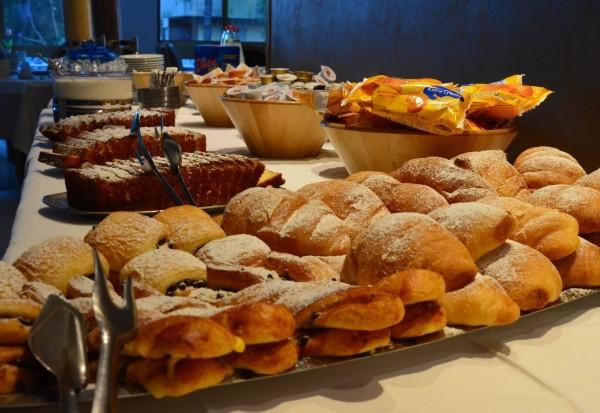 che colazione al Rosengarden Milano Marittima