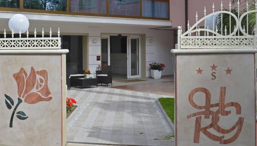 ingresso Hotel Rosen Garden