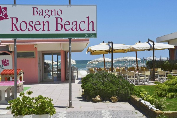 Insegna Rosen Beach